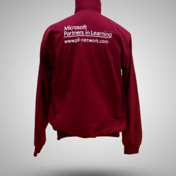 Jaket-Microsoft-Partners-In-Learning-Merah-Maroon-BELAKANG