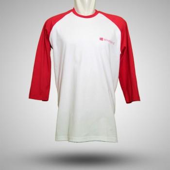 Kaos-Raglan-Windows-8-Putih-Merah