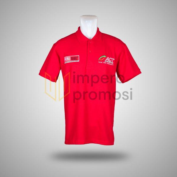 Kaos Polo ACT Merah