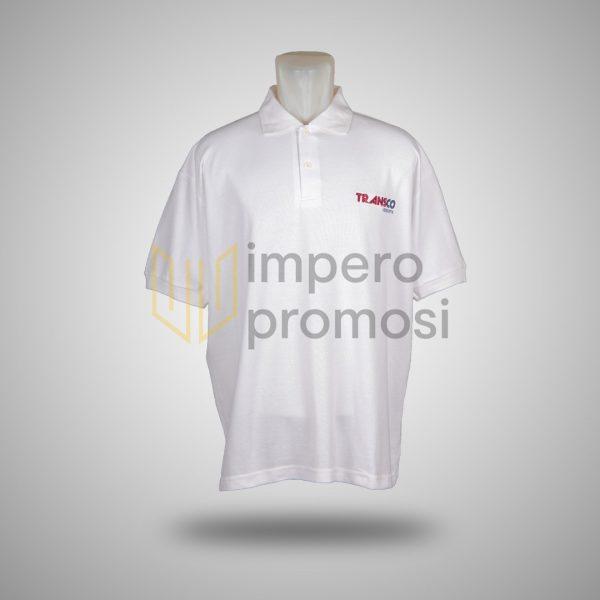 Kaos Transco Logistik Putih