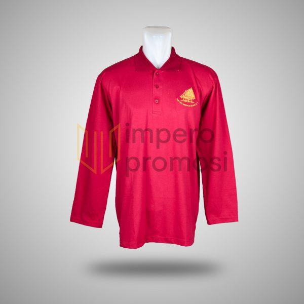 Kaos Polo Bumi Monca Family Merah