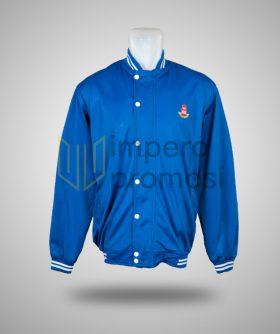 Jaket Varsity SIS Biru Putih