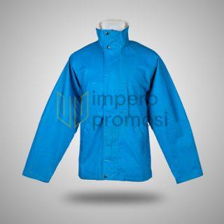 Jaket Taslan Biru