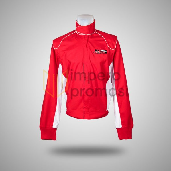 Jaket Lamtoro Karting Merah Putih