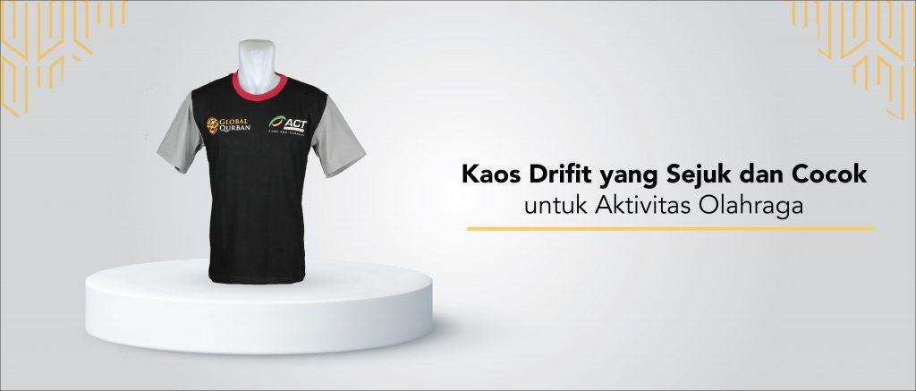 Kaos Dri Fit yang Sejuk dan Cocok untuk Aktivitas Olahraga