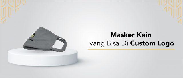 Masker Kain yang Bisa Di Custom Logo